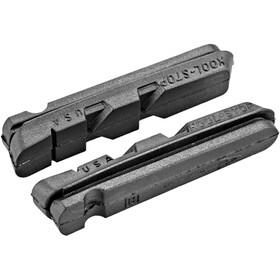 Kool Stop Dura Type Bremseklodser til carbonfælge, 25 g, black